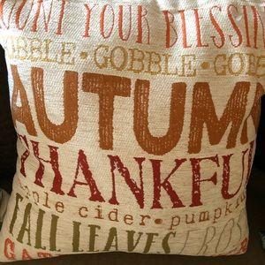 Autumn pillow